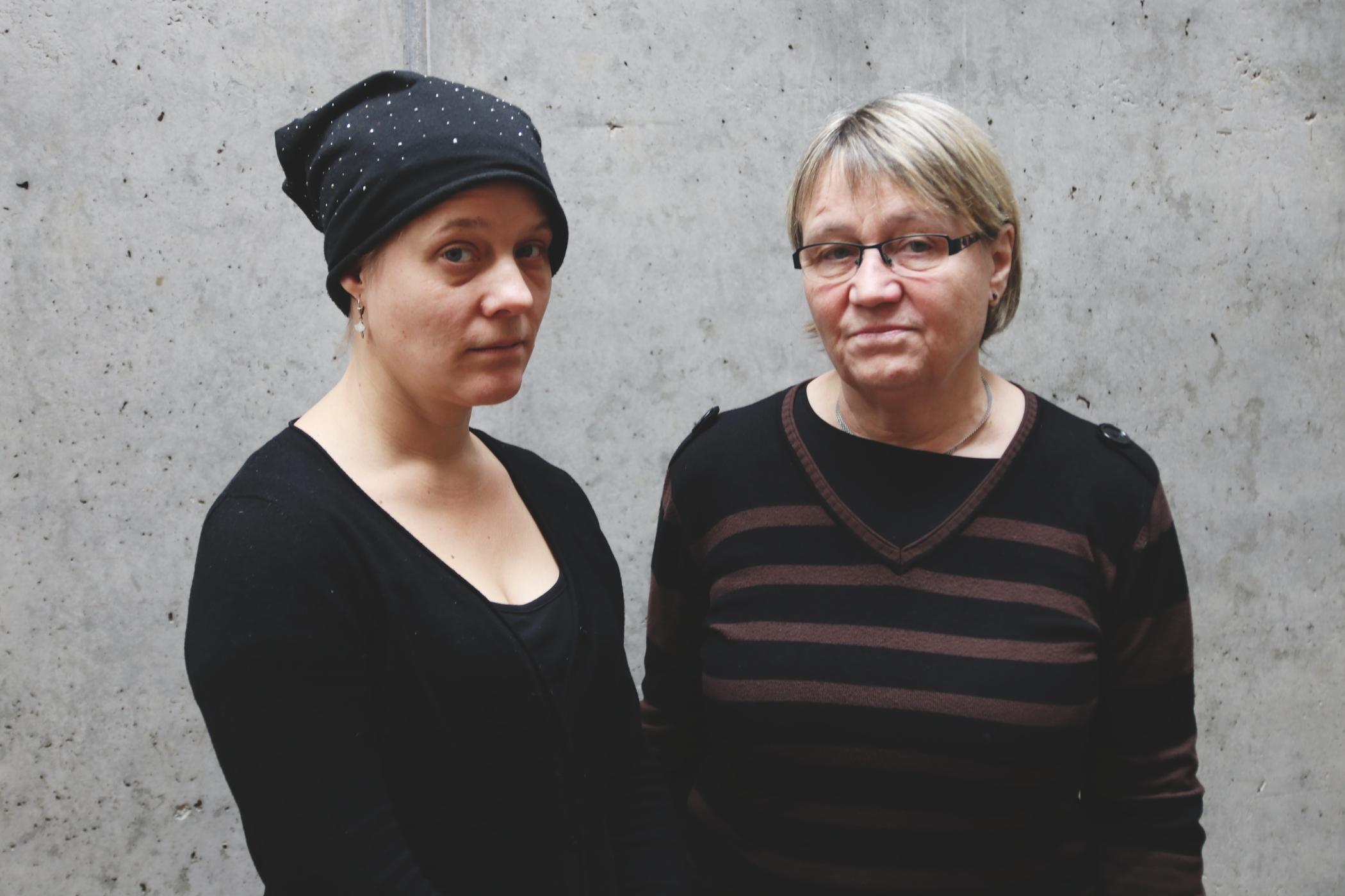 Saša Uhlová a Anna Šabatová