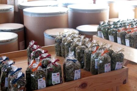 Sušené bylinky, bylinkové soli nebo voňavé polštářky – to jsou suvenýry, které si z Irschenu asi odveze každý návštěvník