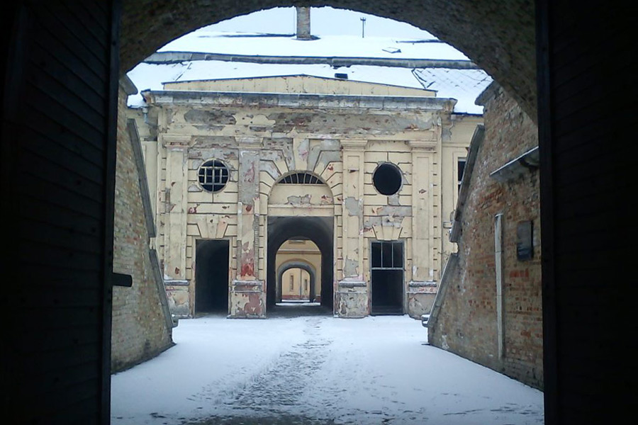 Pevnost Komárno, vstupní brána