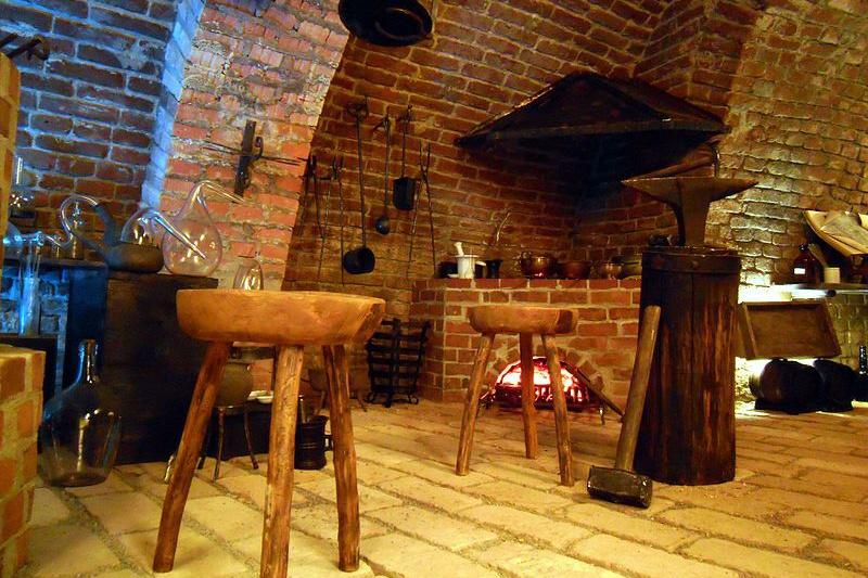 Alchymistická laboratoř v brněnském podzemí