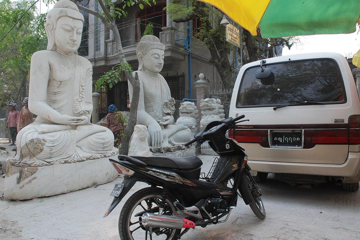 Ne každý dokáže vytvořit sochu Buddhy