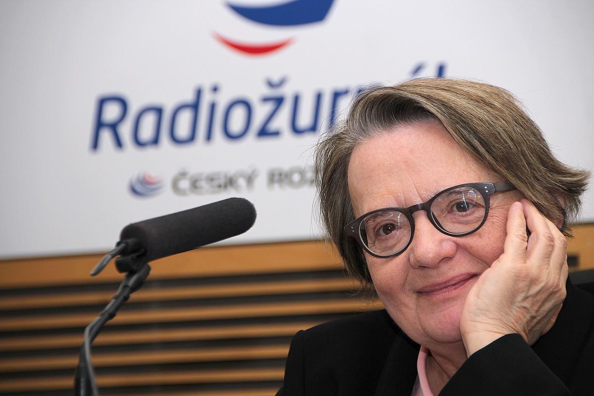 Režisérka Agnieszka Holland