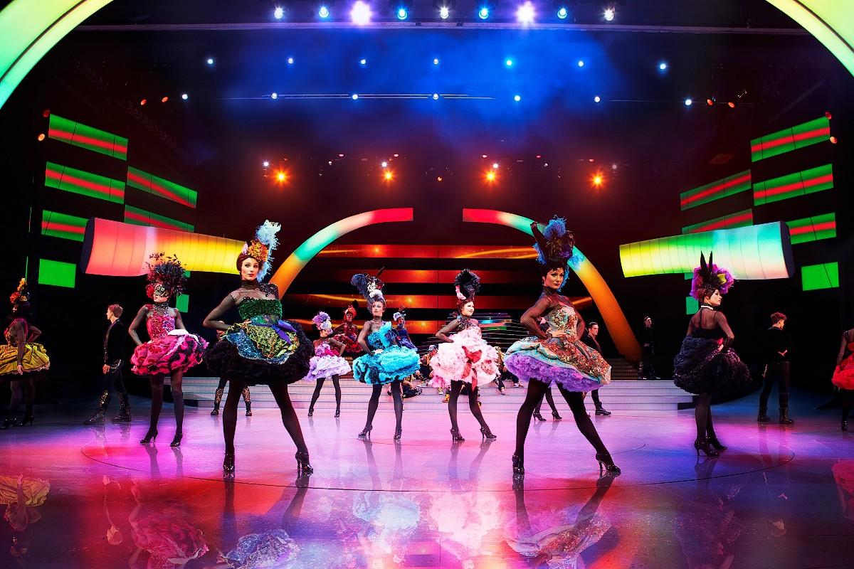 Představení je plné tance