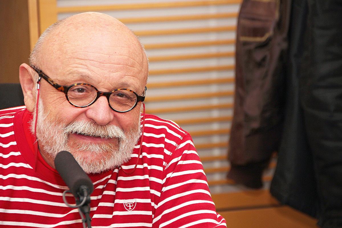 Arnošt Goldflam mluvil o své literární a dramatické práci