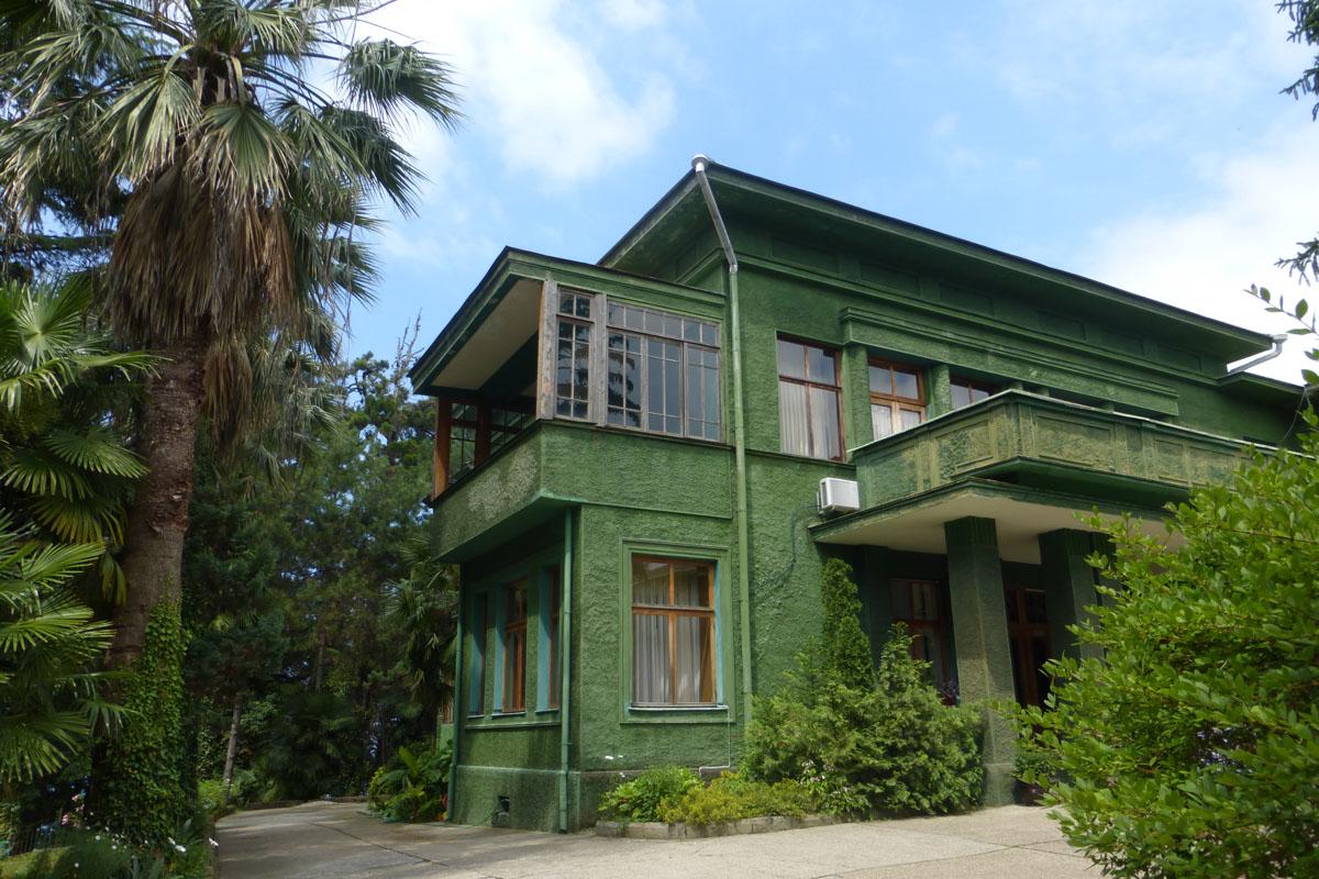 Stalinova vila v sanatoriu Zelený háj