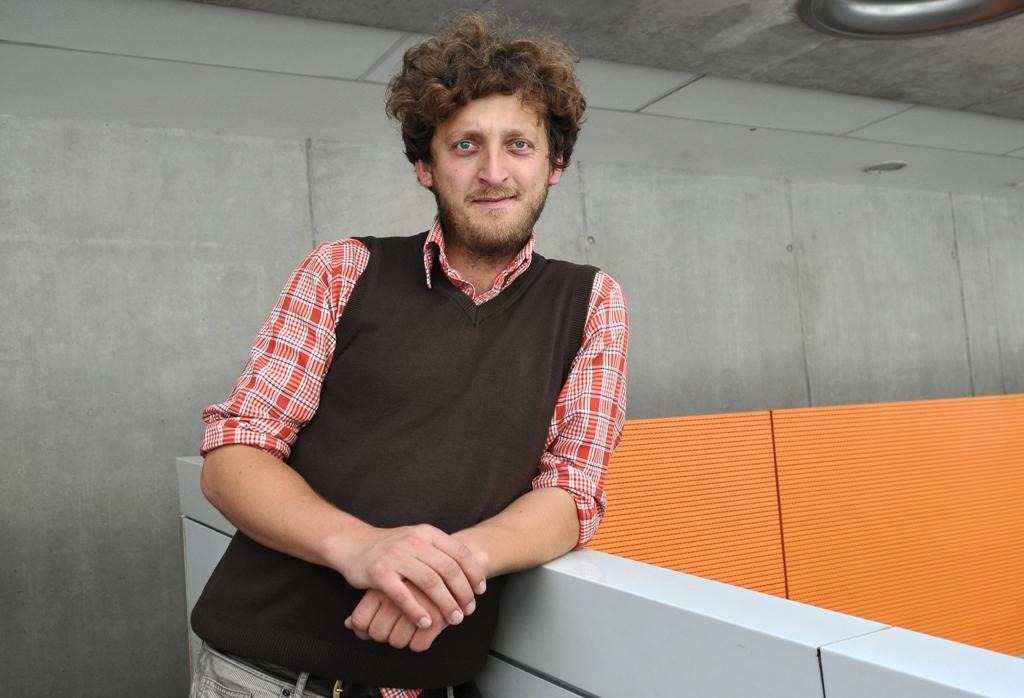 Ondřej Kobza, autor projektu Piána na ulici