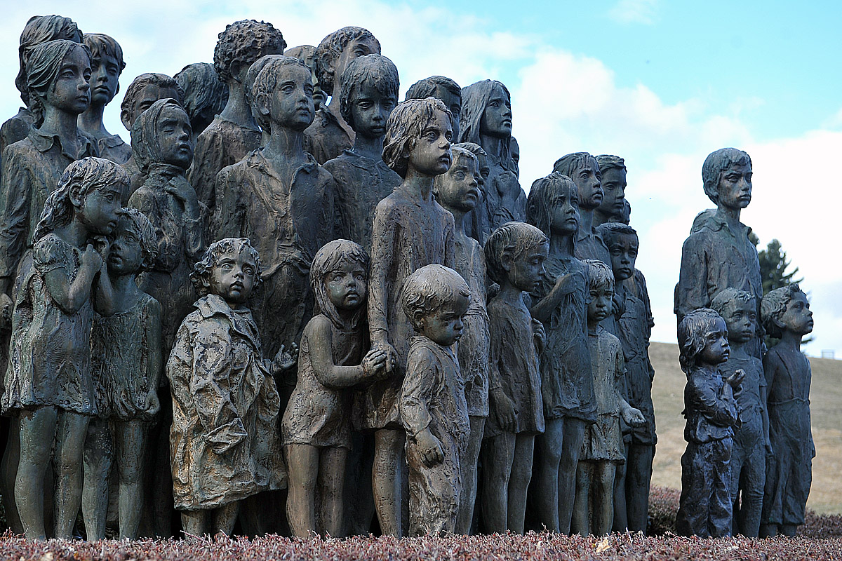 Pomník dětských obětí války, Lidice