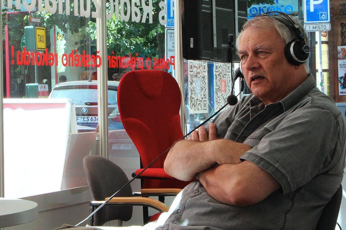 Pavel Toufar je popularizátor kosmonautiky