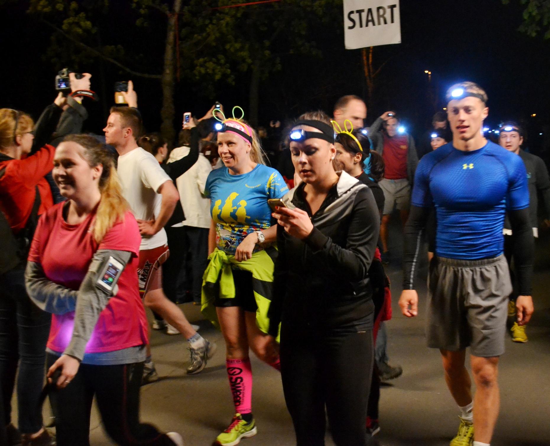 Světlušky při nočním běhu vyhnaly tmu ze Stromovky