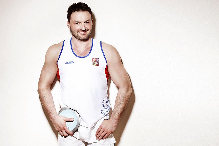Reprezentant ve vrhačských disciplínách Jaroslav Petrouš