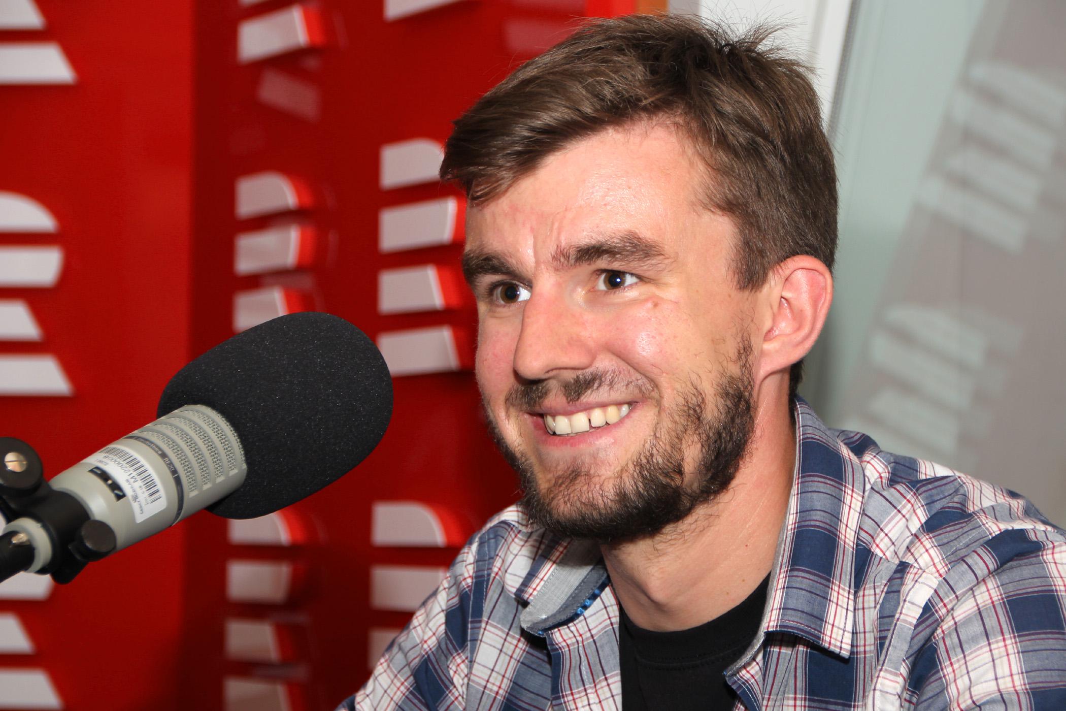 Janek Rubeš, novinář a dokumentarista internetové televize Stream