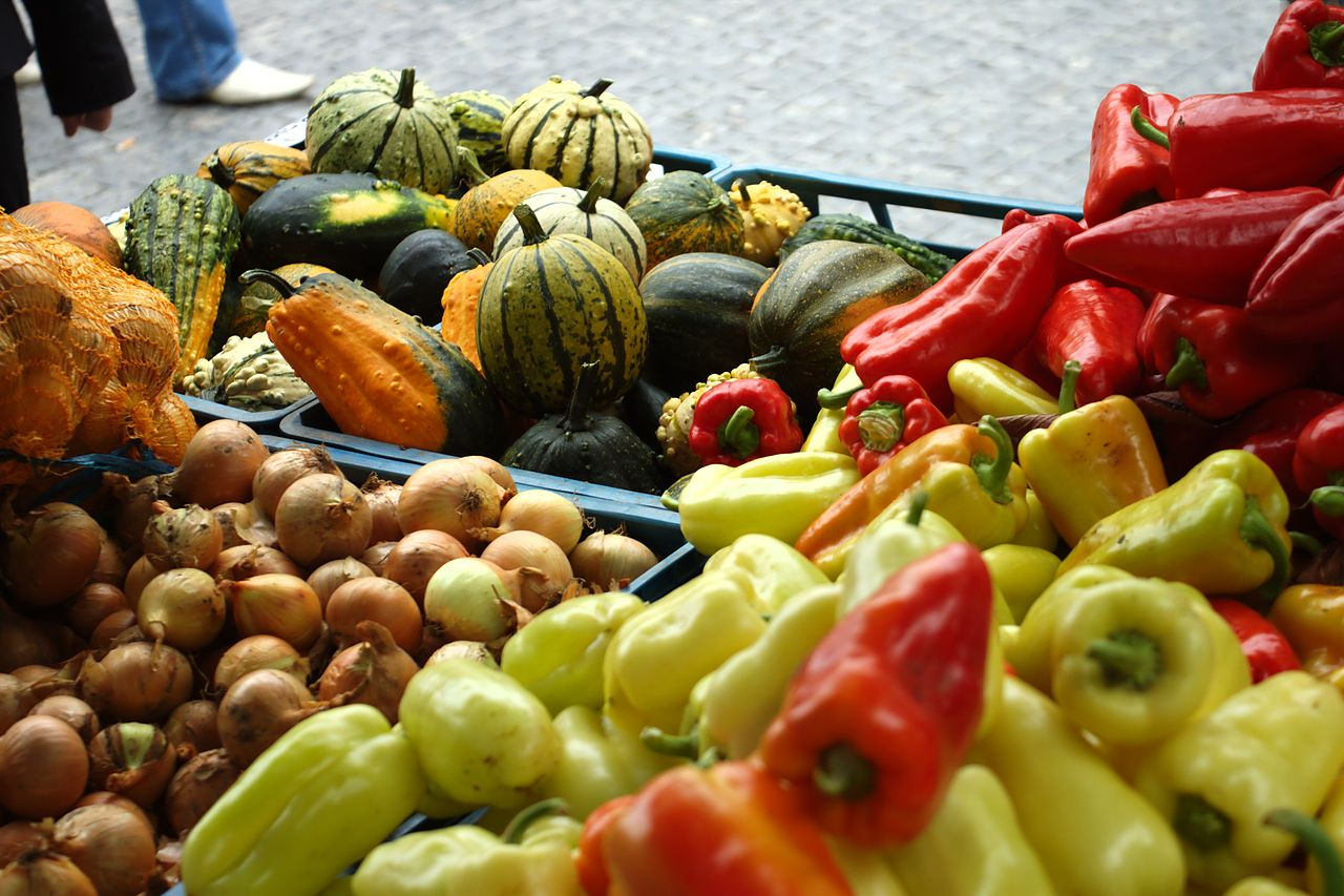 Farmářské trhy na Andělu