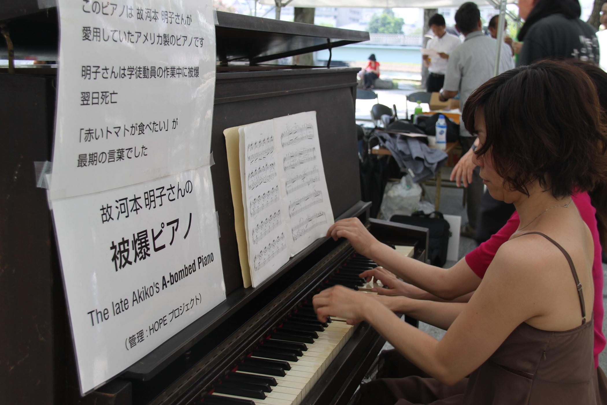 V Japonsku se opět rozezněl atomový klavír z Hirošimy