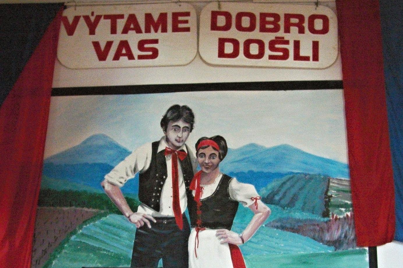 Malba v českém domě v Nové Vsi