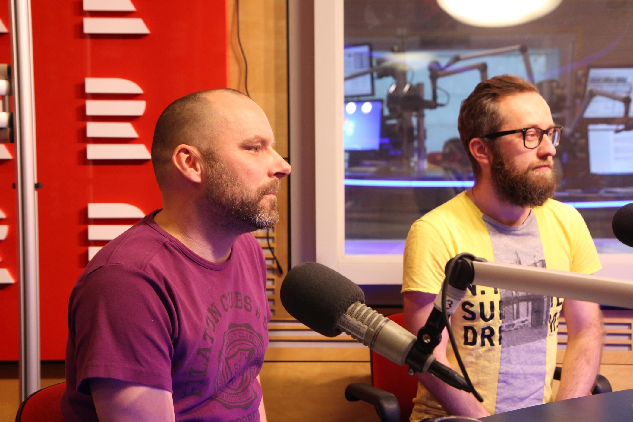Petr Laně a Jan Rous odpovídali na otázky moderátorka Jana Pokorného