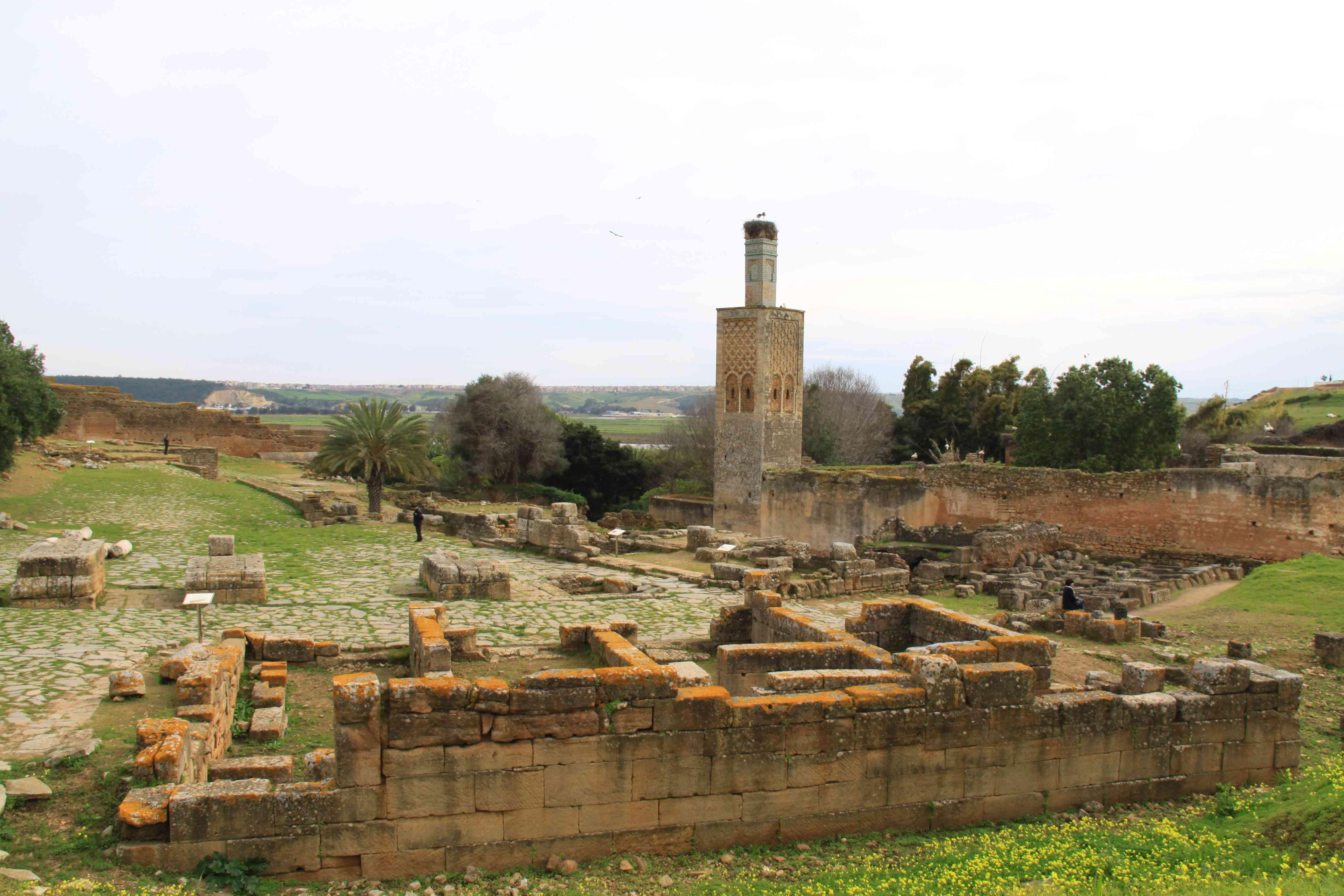 Ruiny antické města Sala Colonia leží nedaleko dnešní marocké metropole Rabatu
