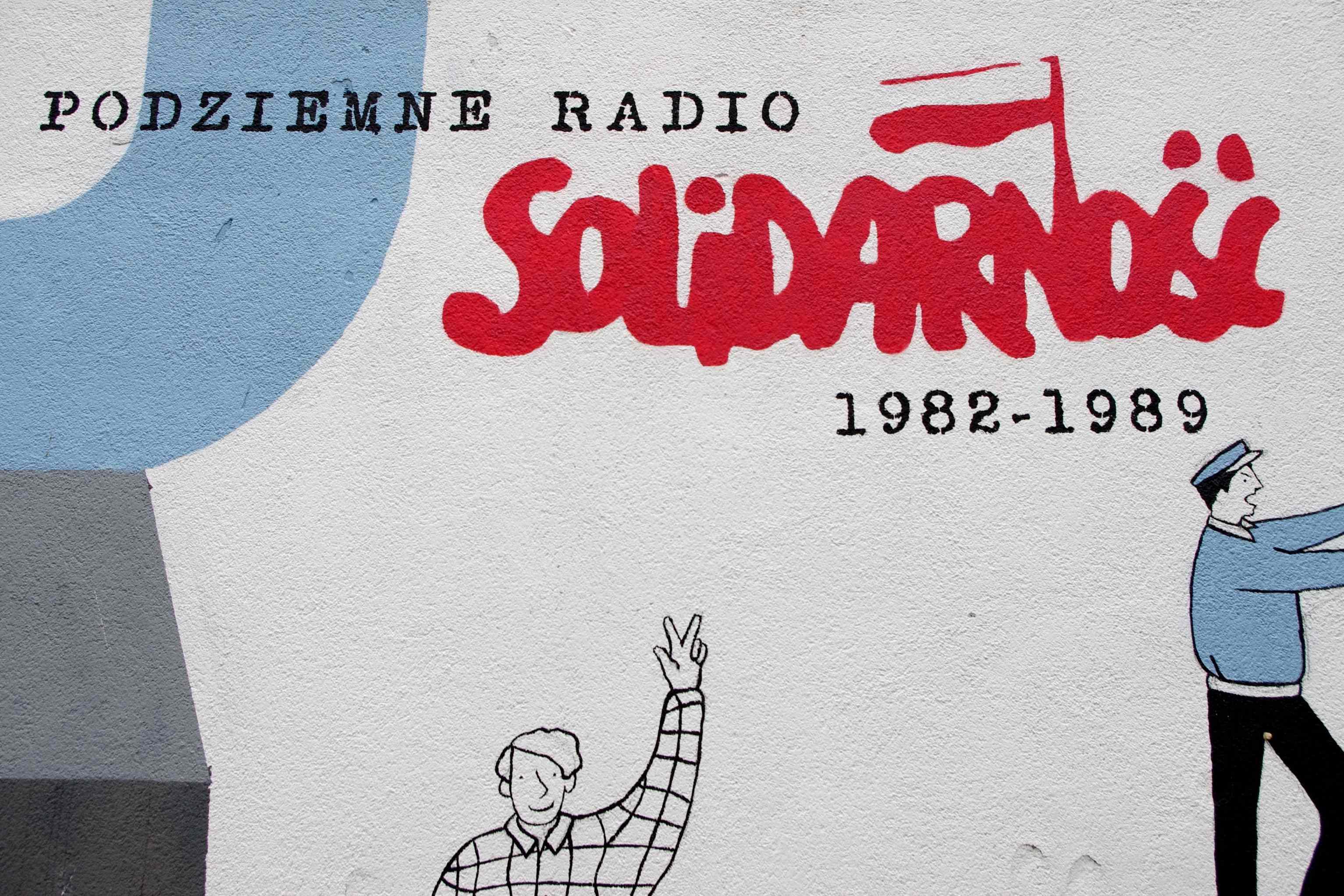 Radio Solidarita vysílalo od roku 1982 do roku 1989