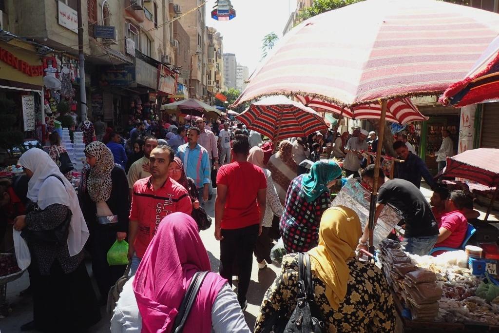 Káhira je rušné velkoměsto. Na její zvuky nejde jen tak zapomenout