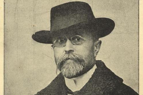 Tomáš Garrigue Masaryk v roce 1910 jako říšský poslanec ve Vídni.