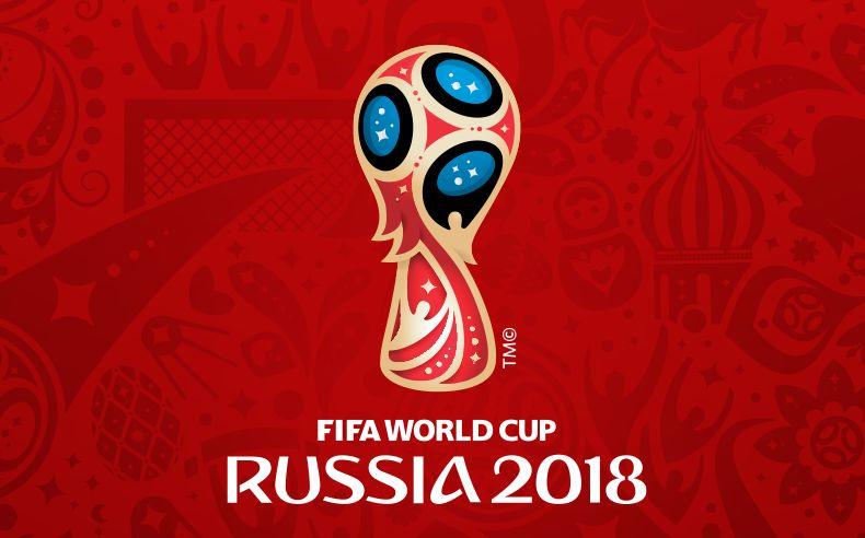 Logo MS ve fotbale 2018, které se koná v Rusku
