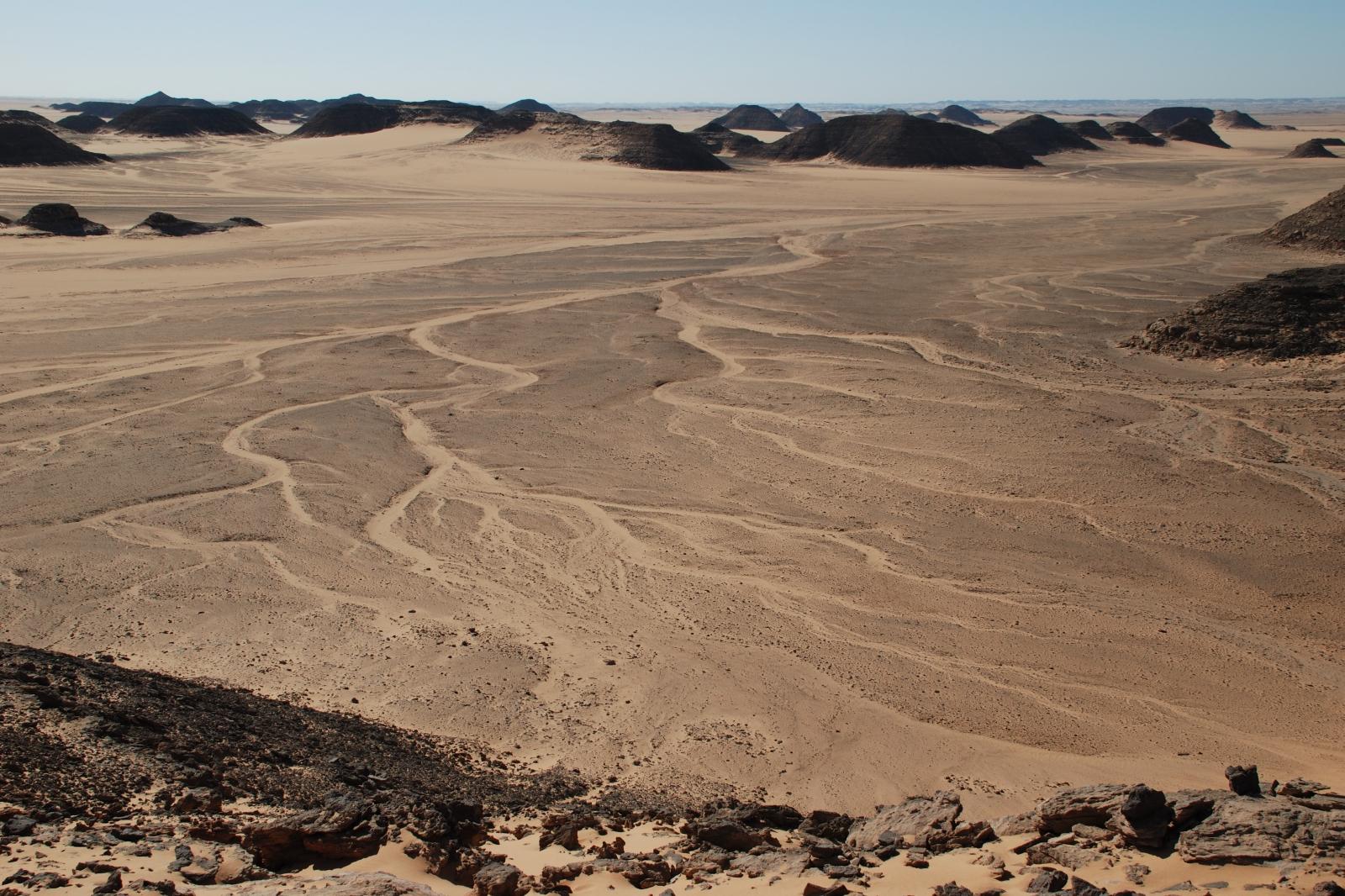 Núbijská poušť - Wádí Halfa (rok 2008)