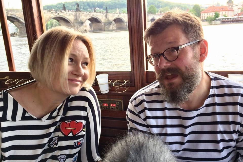 Patricie Strouhalová a Zdeněk Bergman se projeli po Vltavě