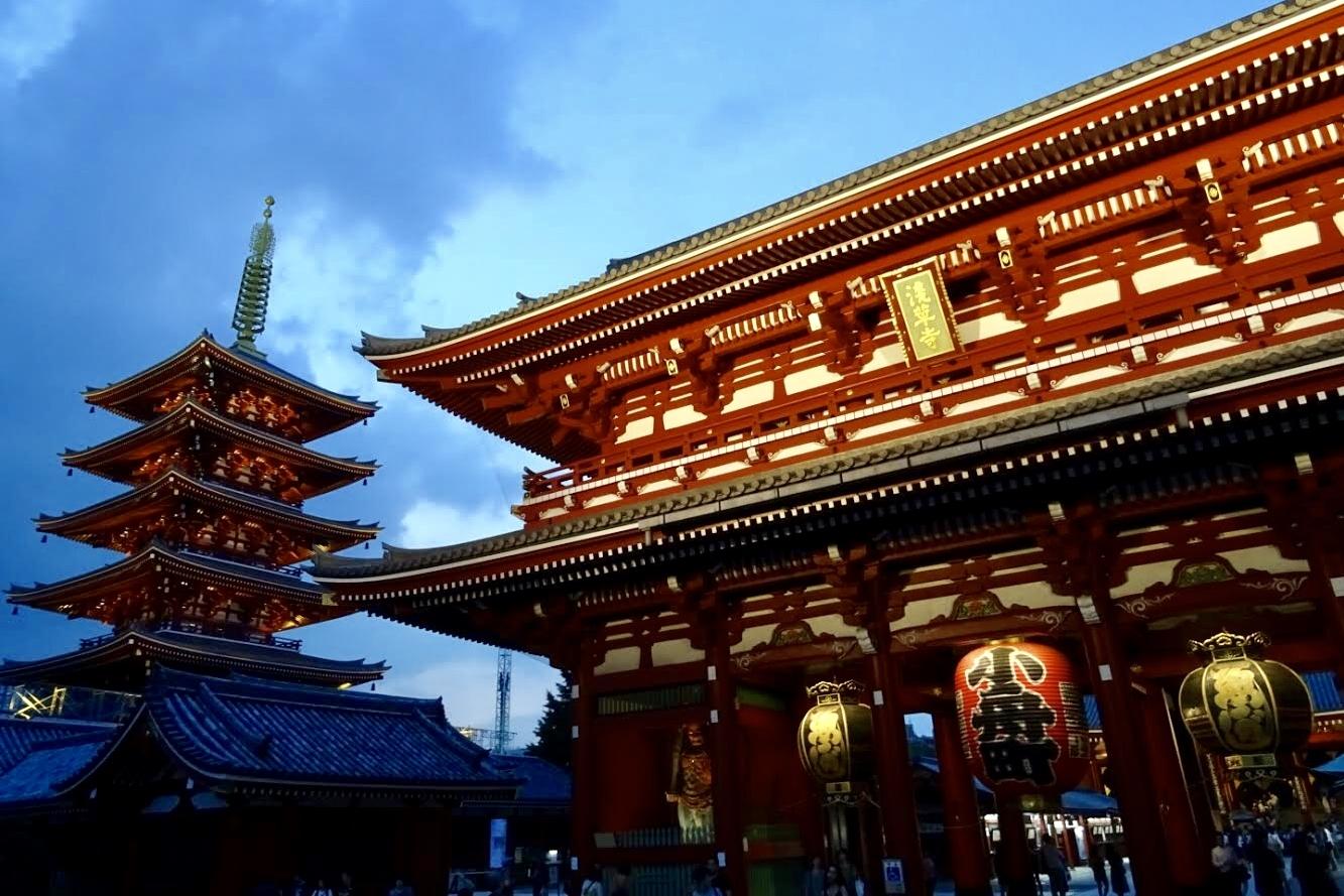 Tokijská čtvrť Asakusa