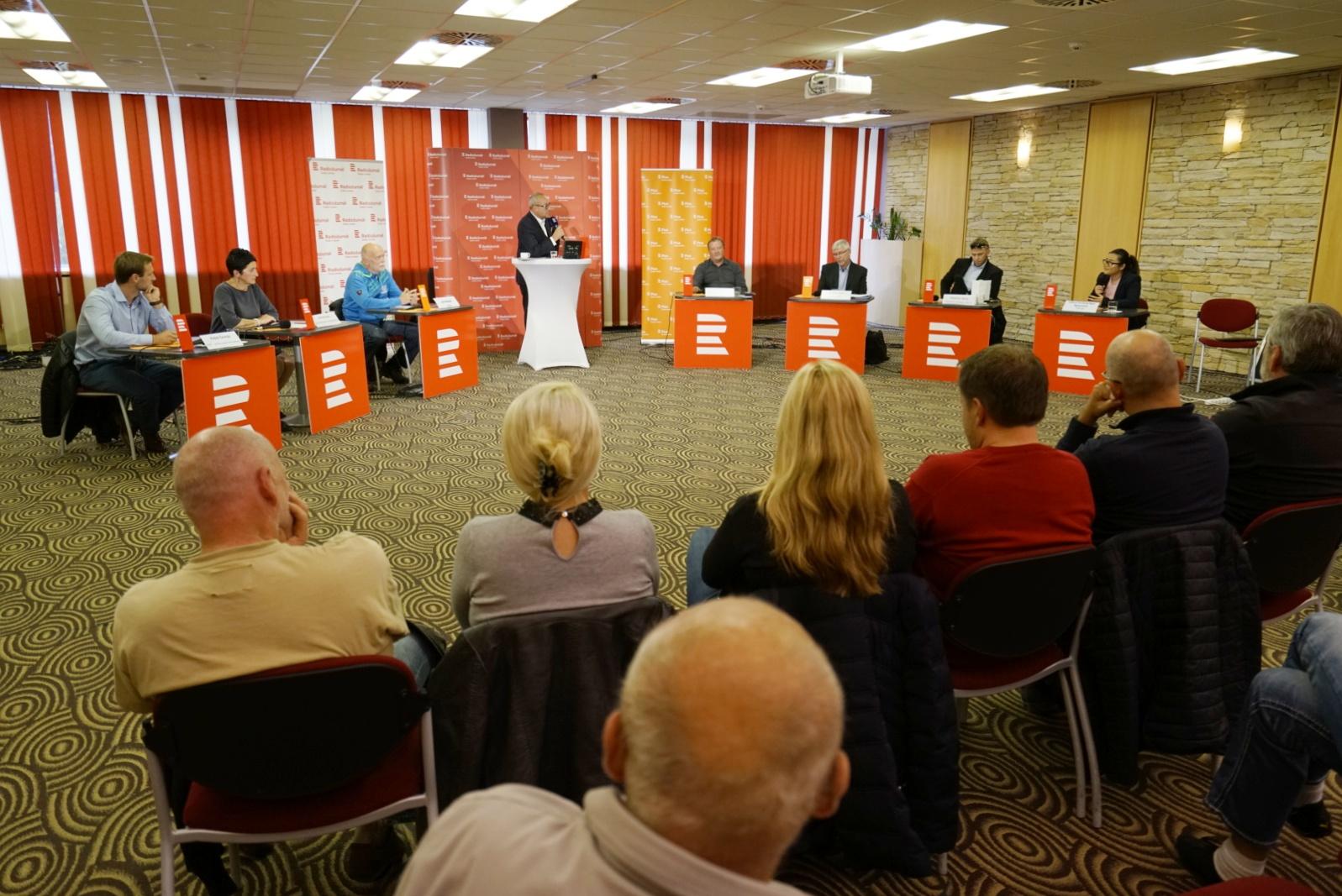 Předvolební debata v Harrachově