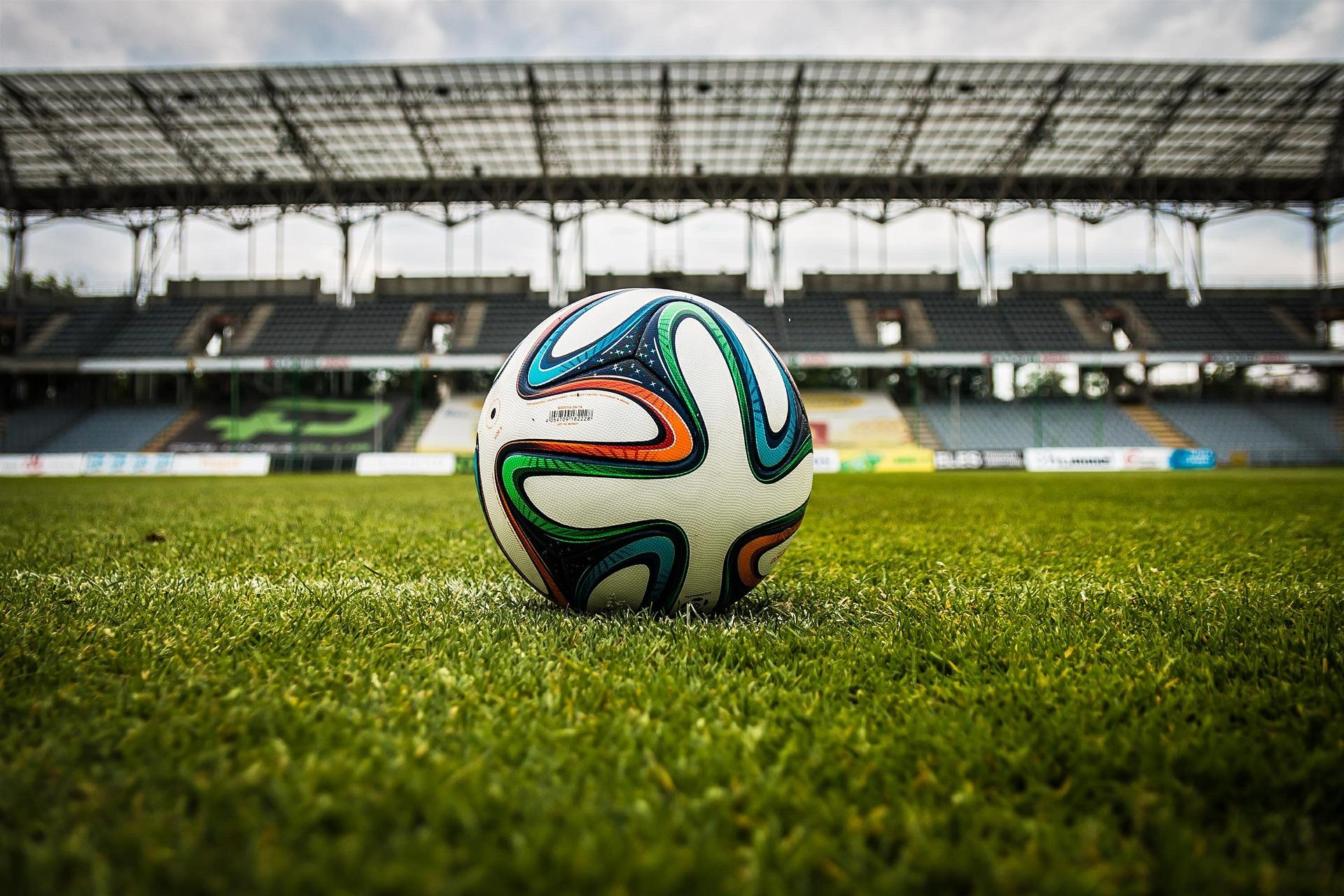 Fotbal, stadion, ilustrační foto