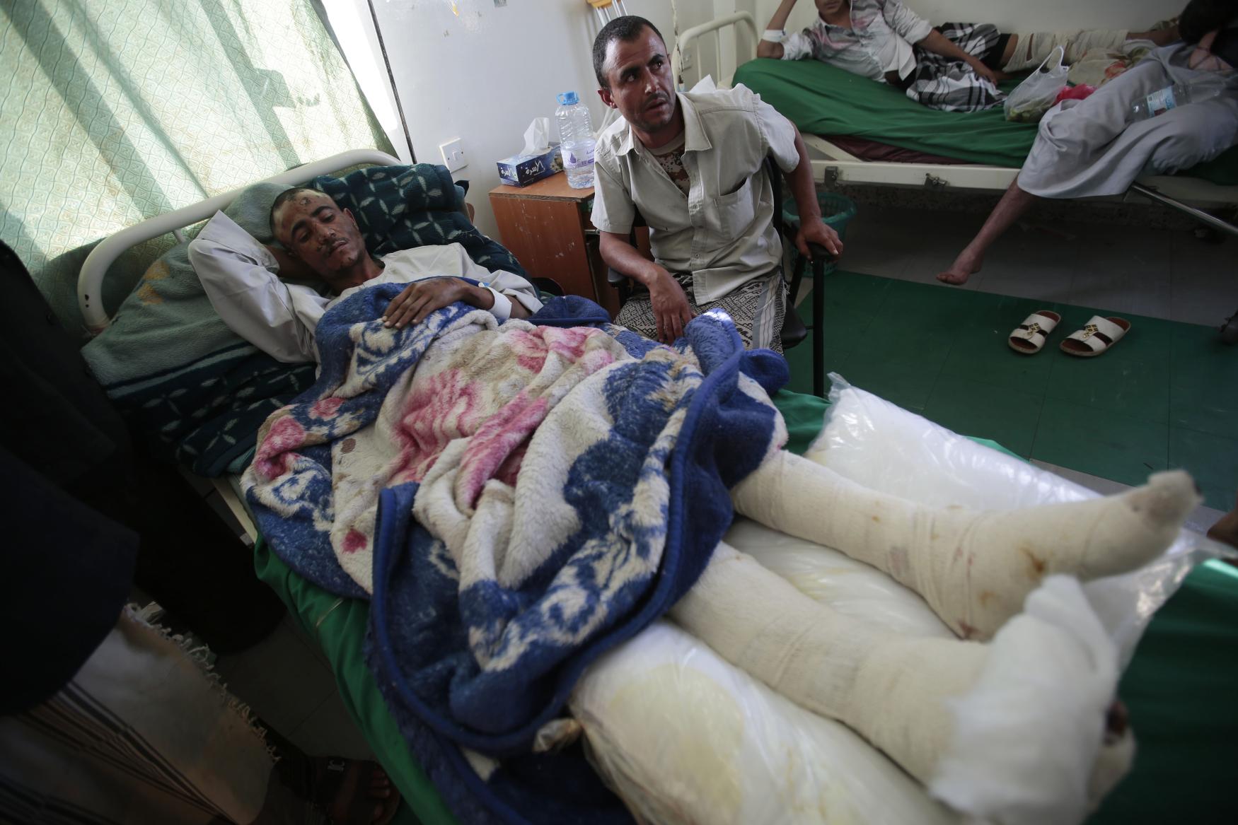 Jemenská nemocnice, 2016
