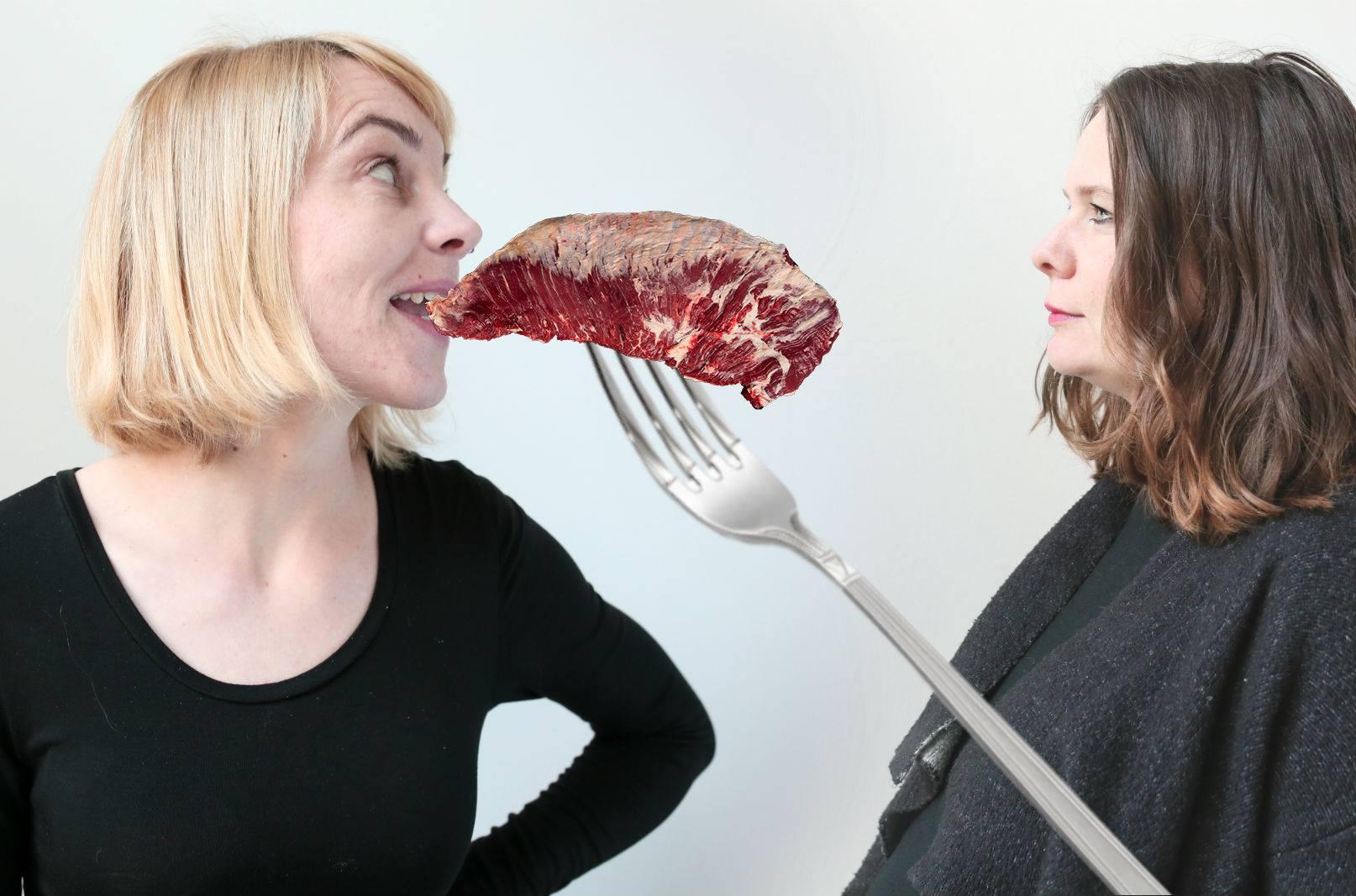 Ivana Veselková a Zuzana Fuksová vs. vegetariánská kuchyně