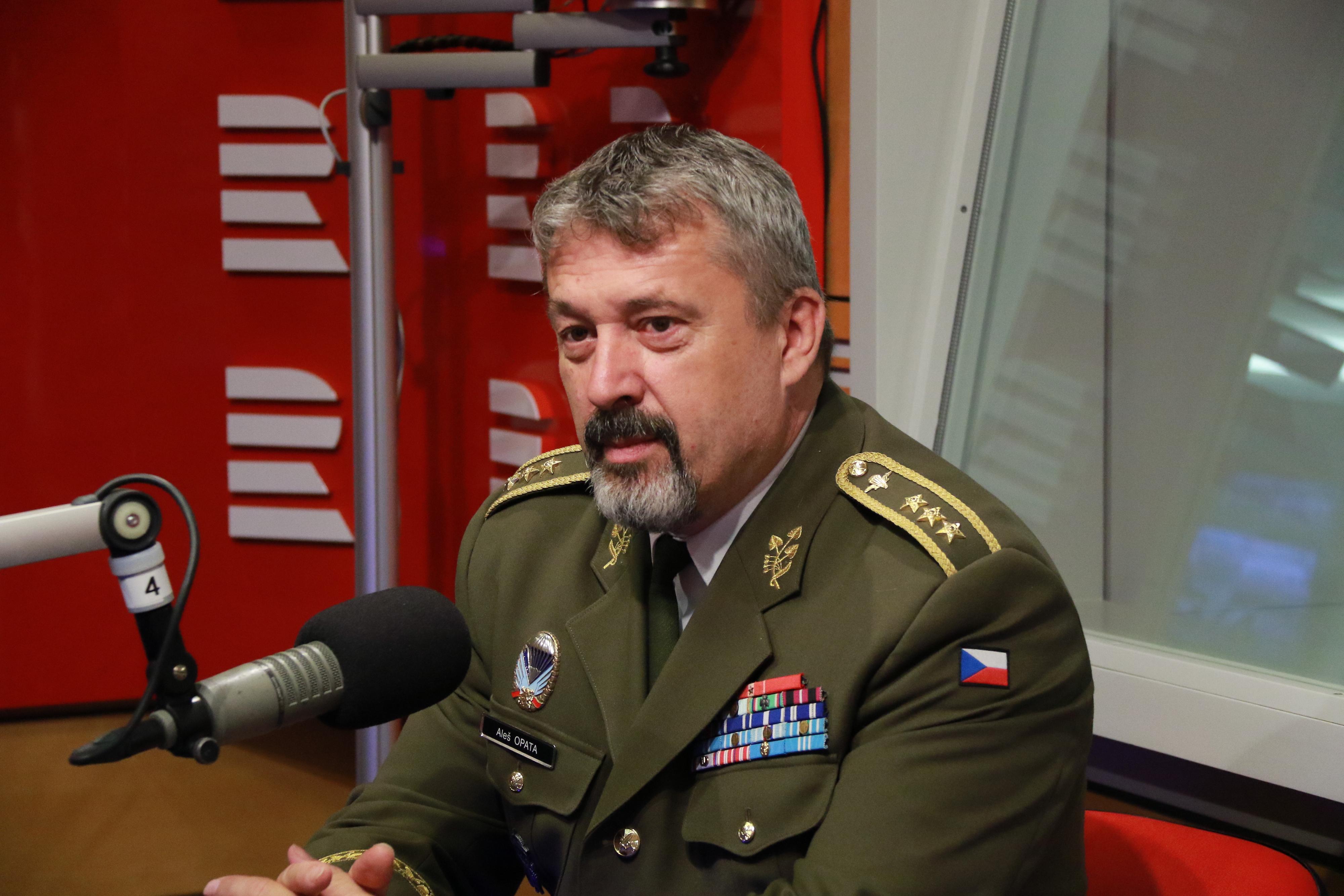 Náčelník generálního štábu české armády Aleš Opata
