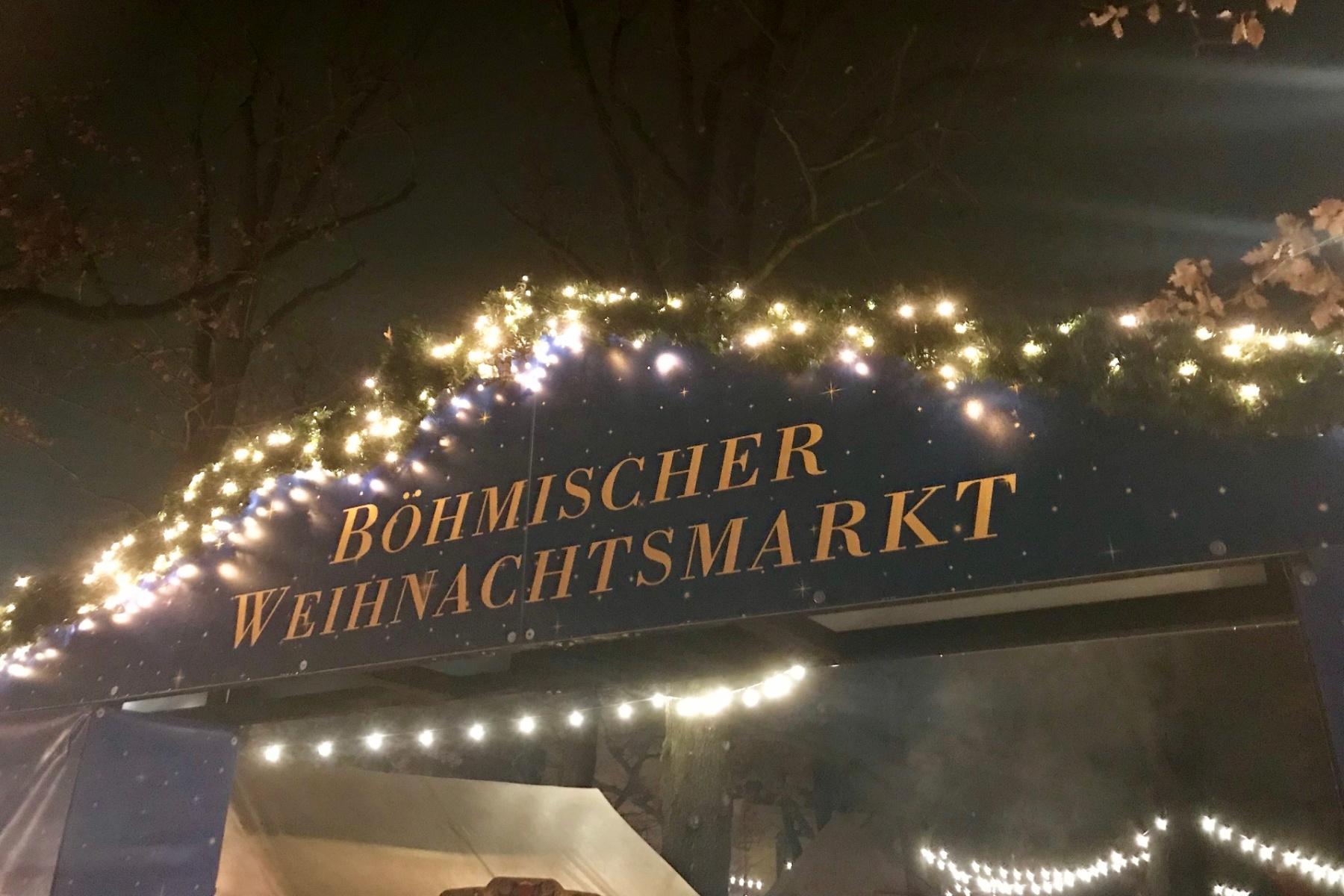 V Postupimi se o víkendu otevřely brány českého vánočního trhu