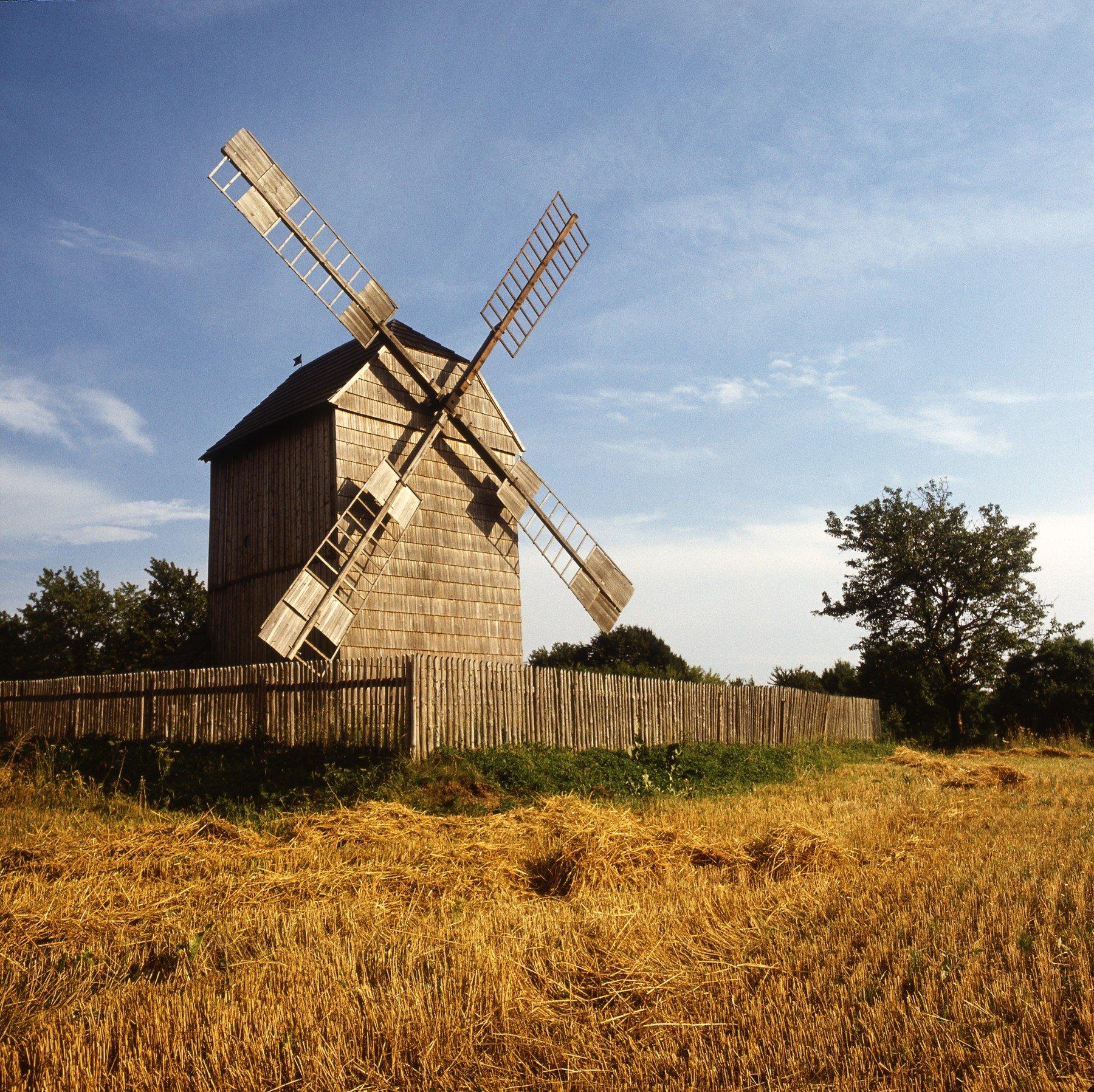 Větrný mlýn Velké Těšany