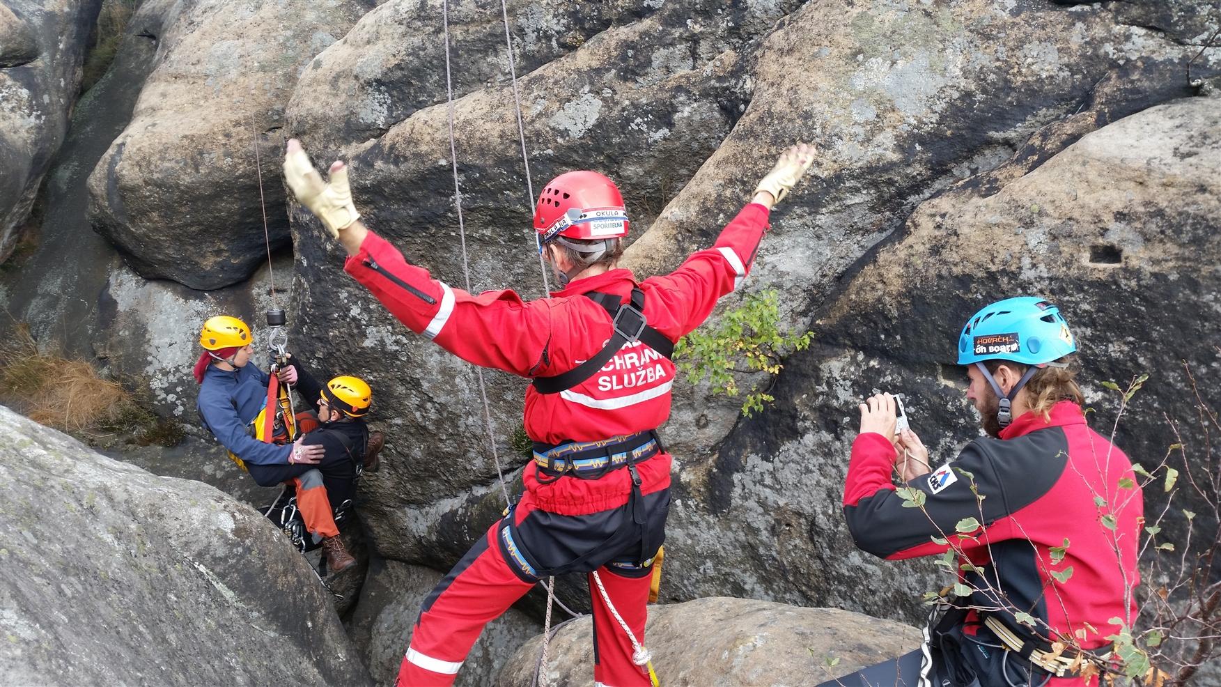Skalní záchranná služba už 18 let pomáhá složkám Integrovaného záchranného systému