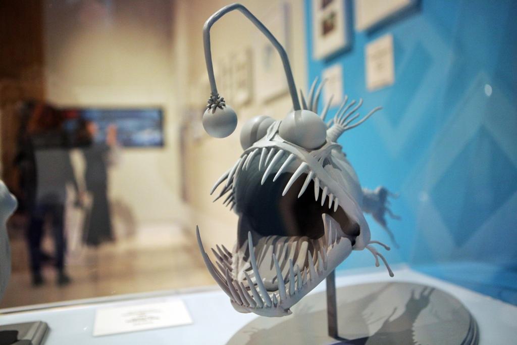 Jedna z pixarovských postaviček na holešovické výstavě