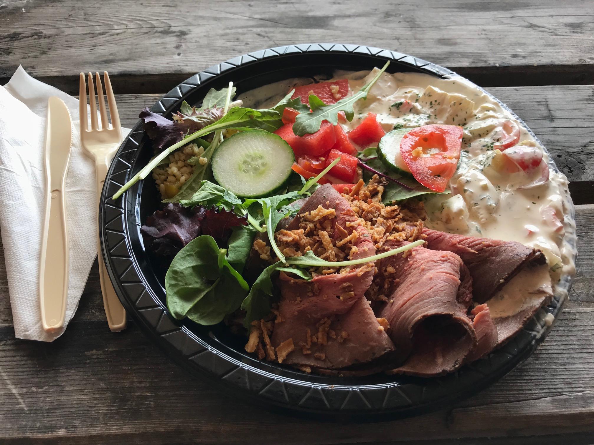 Švédské obědové menu