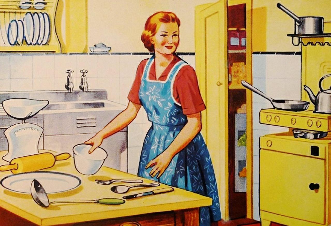 Žena v kuchyni (ilustrační foto)