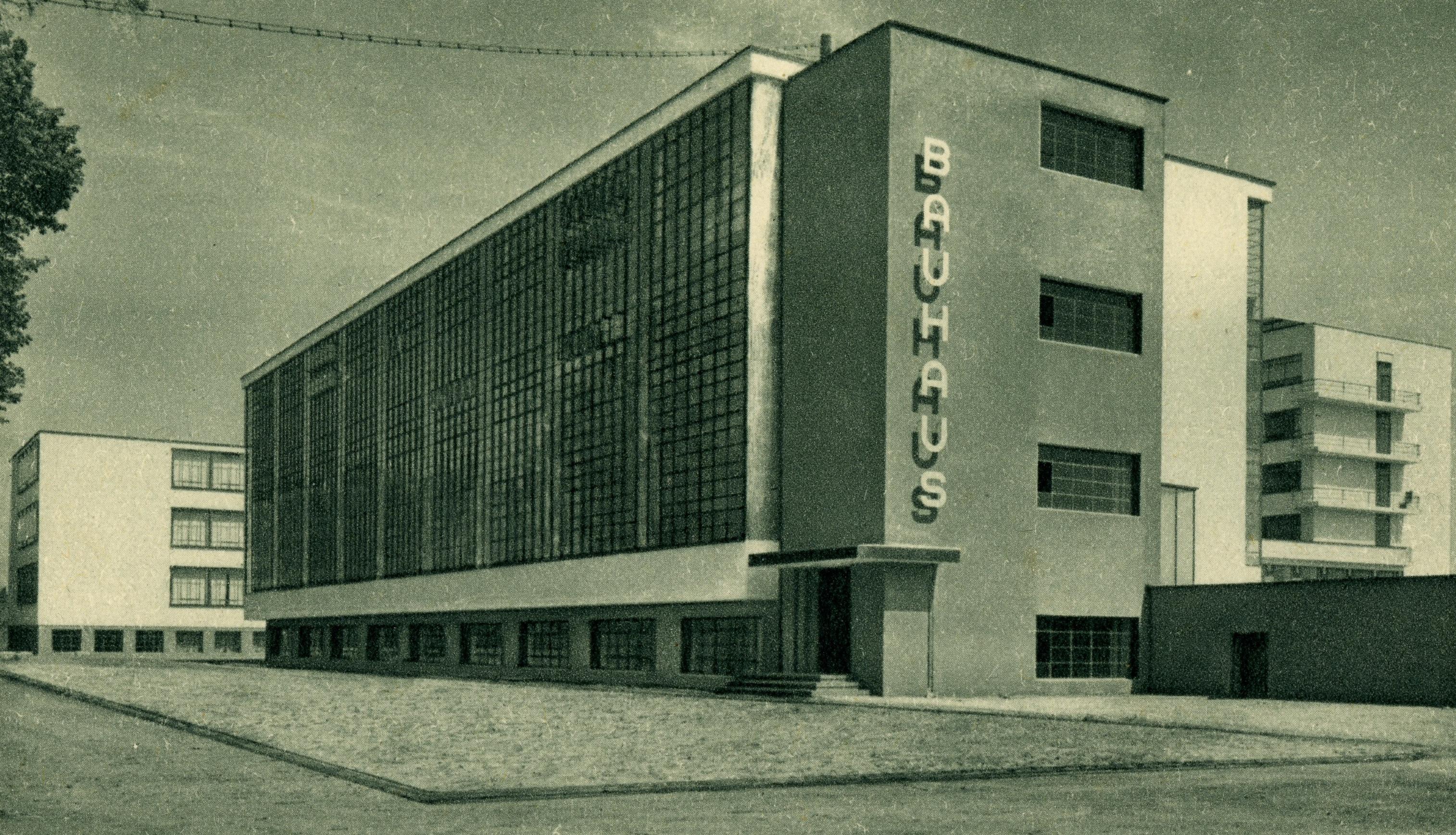 Bauhaus, budova školy