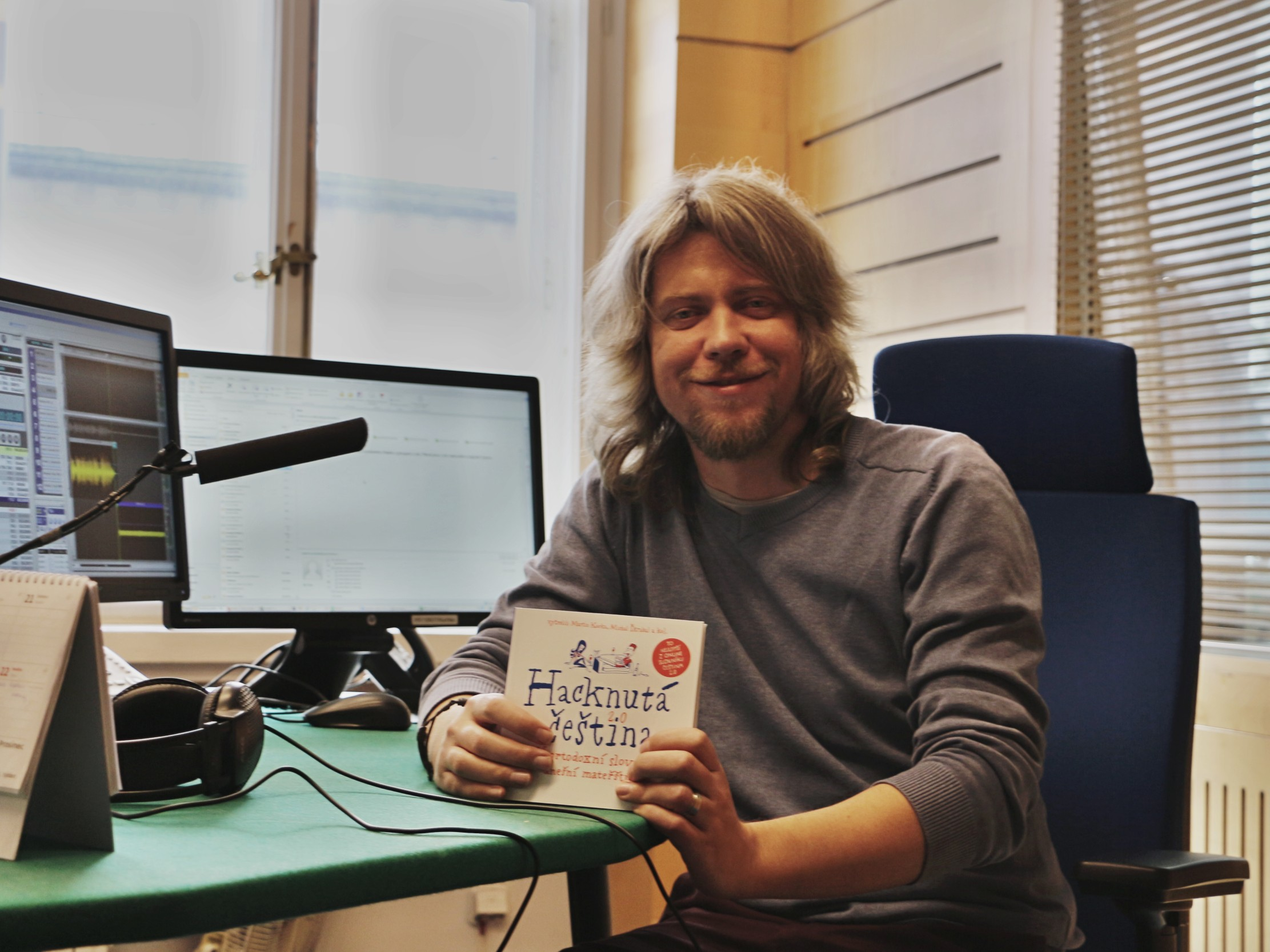 Martin Kavka, autor slovníku Čeština 2.0