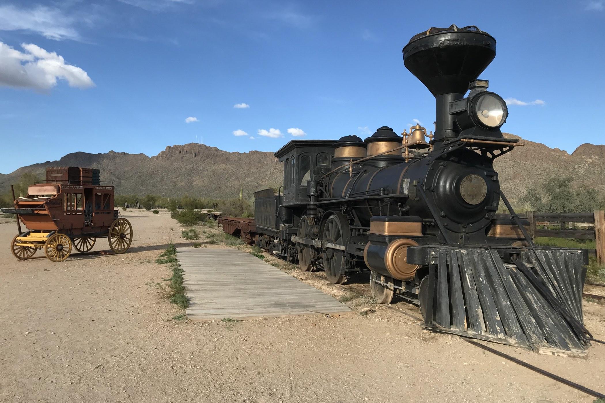 Westernové městečko Old Tucson