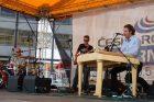 Koncert zahájil Medicimbal s cimbalistou a zpěvákem Romanem Veverkou