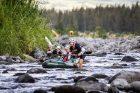 Závod Adventure race, listopad 2018: Tereza Rudolfová, Jaroslav Krajník, Pavel Kurz a Tomáš Petreček