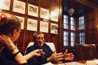 Karol Pavlů při rozhovoru s Lucií Výbornou
