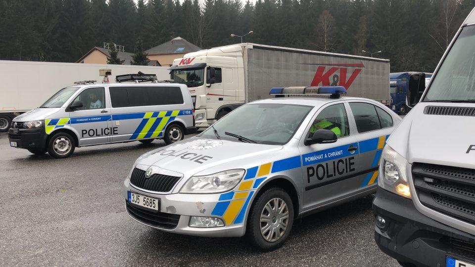 Vybavení dopravní policie
