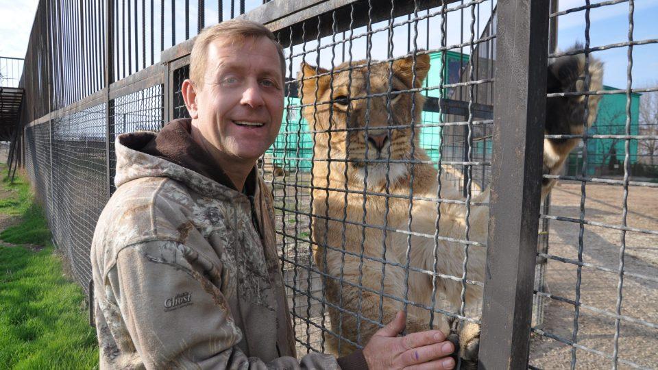 Se zvířaty je Oleg Zubkov zadobře, s ruskými úřady má už vztahy horší
