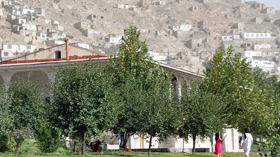 Nad Baburskými zahradami