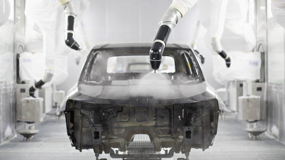 Nová lakovna umožní nárůst výrobní kapacity téměř o čtvrtinu, mimo jiné i díky využití 66 robotů