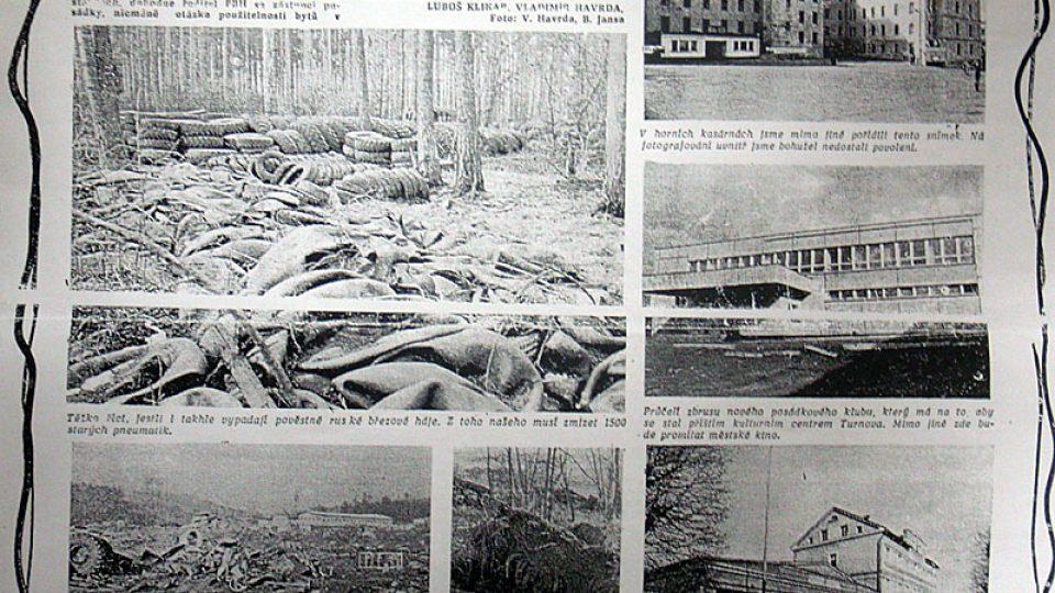 Domlouvání odsunu sovětských vojsk v Turnově v roce 1990