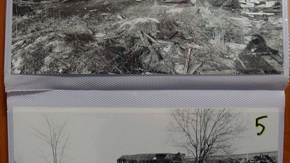 Fotografie z prostoru raketové základny Vesecko u Turnova v době, kdy jej opustila sovětská posádka